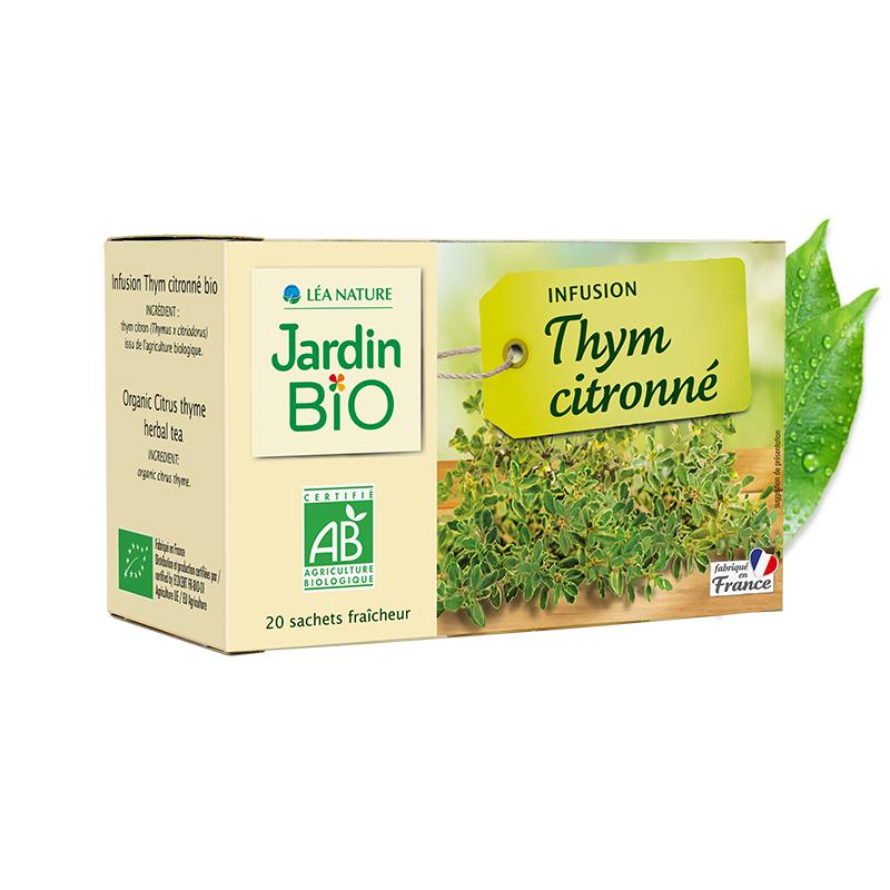 Infusion thym citronné bio