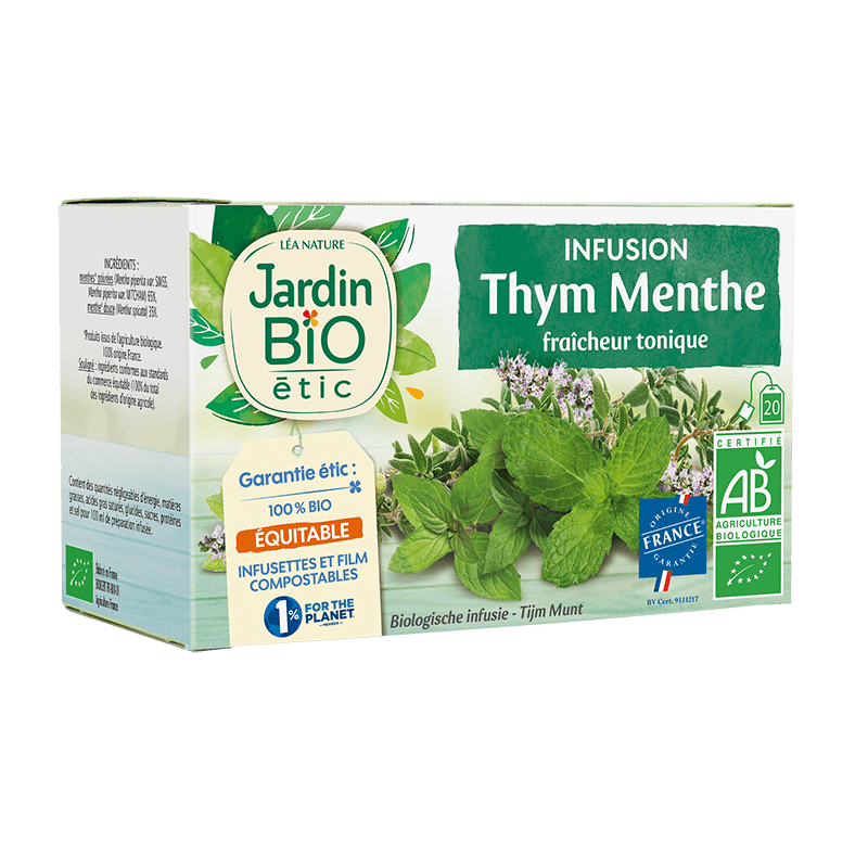 Infusion thym/menthe