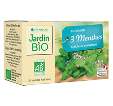 Infusion bio 3 menthes