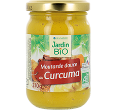 Moutarde douce  au curcuma