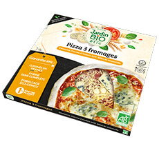 Pizza bio 3 fromages