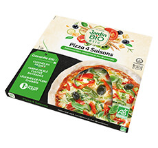 Pizza bio 4 saisons