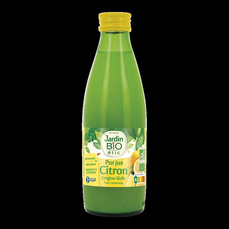 pur jus de citron Jardin BiO étic