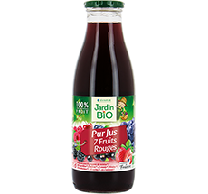 Pur jus  7 fruits rouges