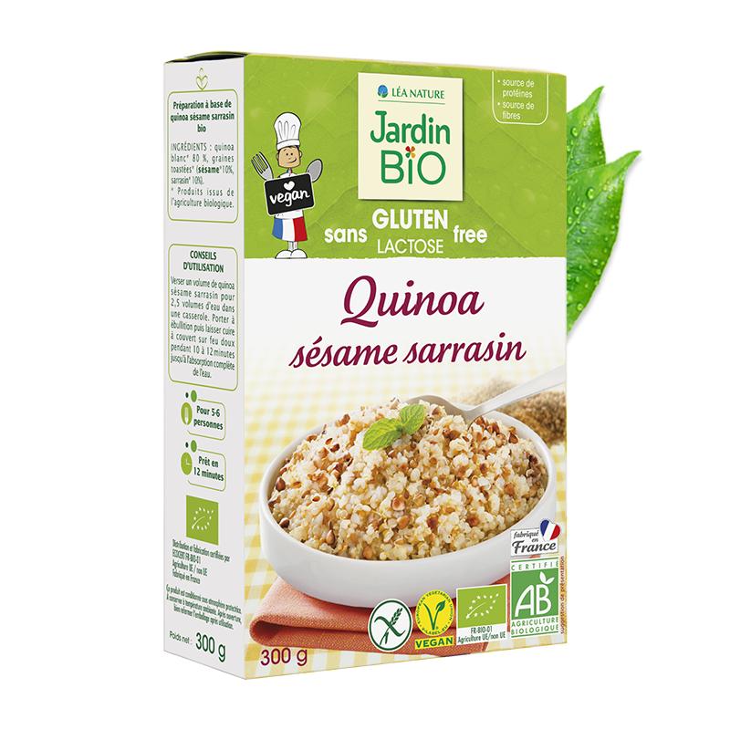 Quinoa sésame et sarrasin