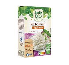 Riz basmati au long grain