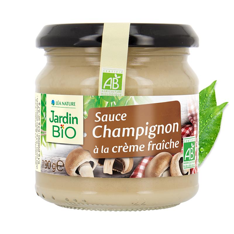 Sauce champignons à la crème fraiche