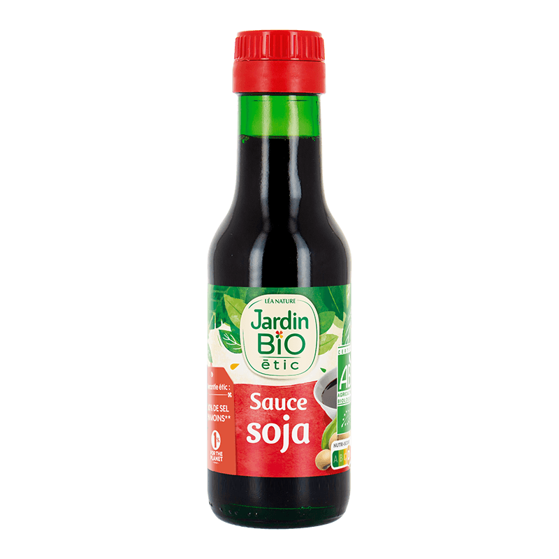 sauce soja Jardin BiO étic