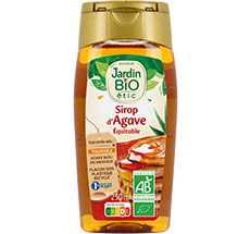 Sirop d'agave bio format squeeze