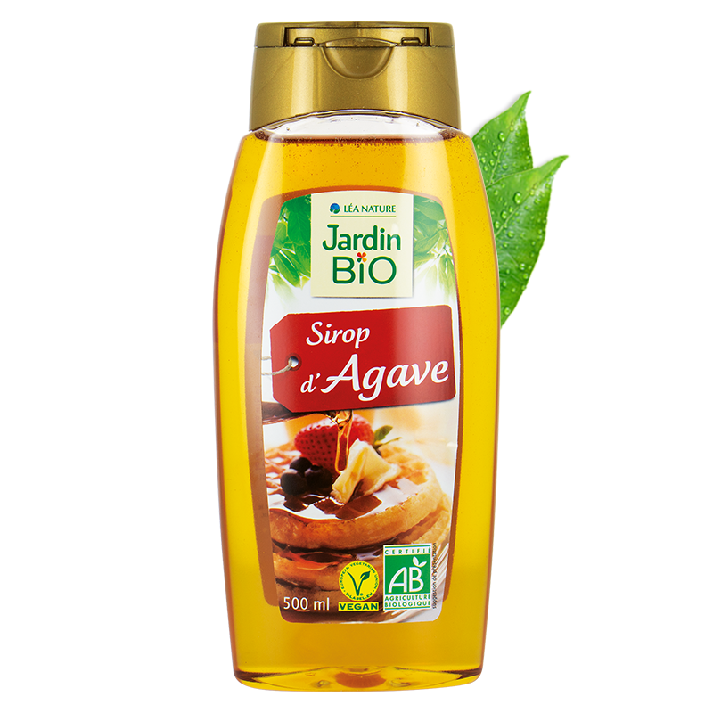 Sirop d'agave format squeeze – format familiale