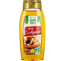 Sirop d'agave bio format squeeze familial