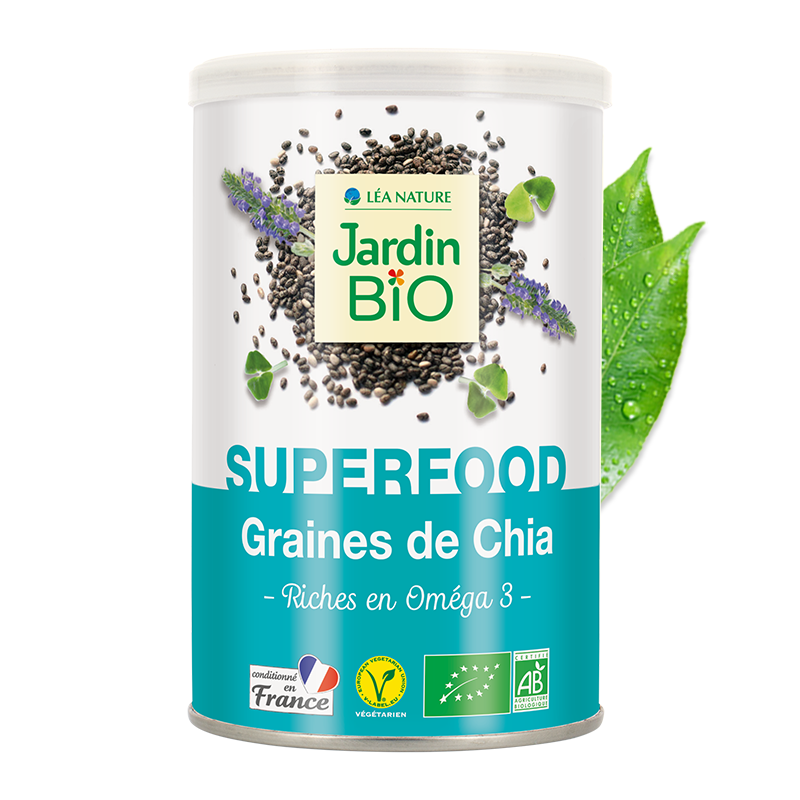 Super graines de chia bio super aliment
