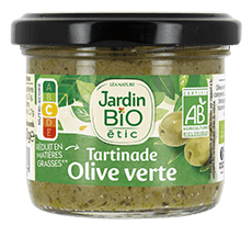 Tartinade d'Olives vertes