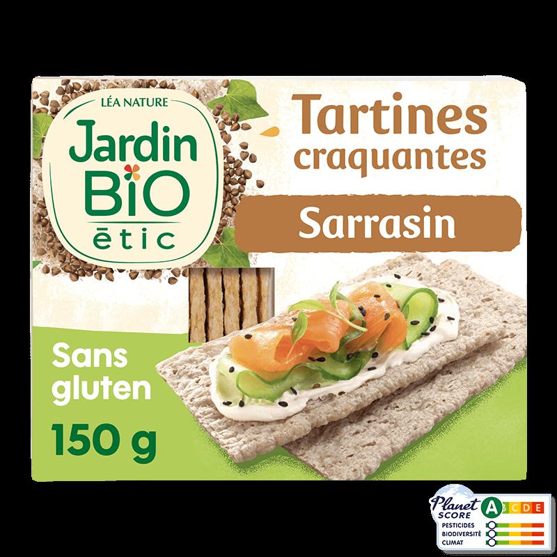 Tartines Au Sarrasin Bio Sans Gluten 300 G Jardin Bio