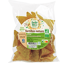 Tortillas nature bio  sans gluten