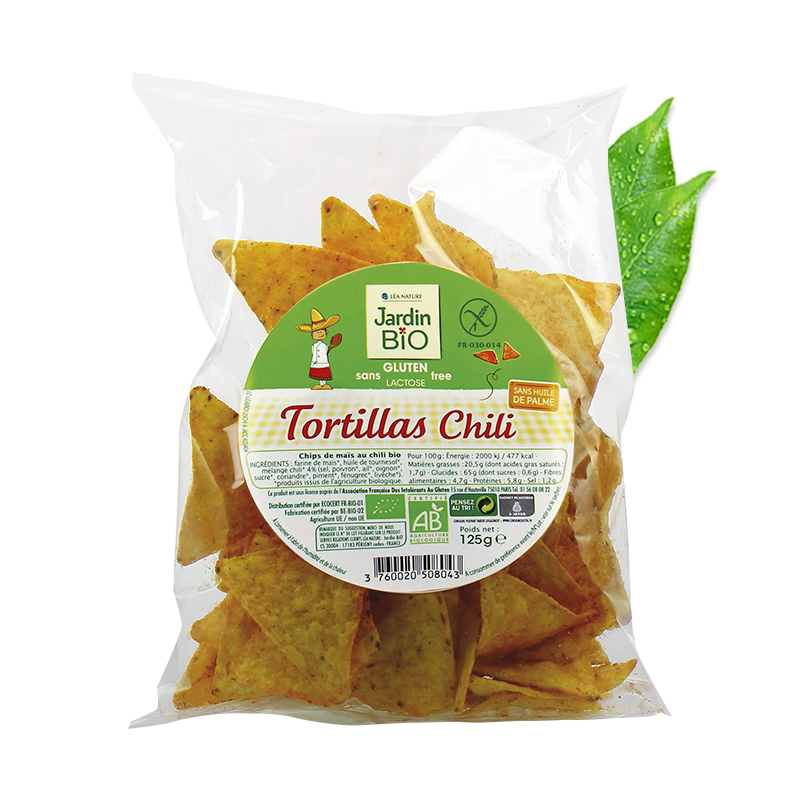 Tortillas chili  sans gluten