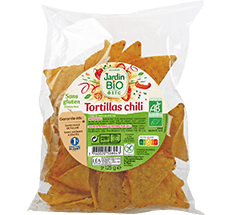 Tortillas chili bio sans gluten